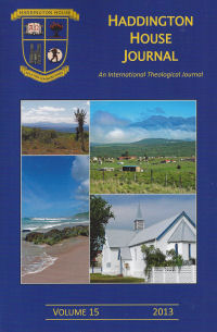 Journal13 front cover